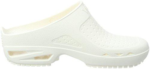 Wock Unisex Adulto Blocco Zoccoli Bianco (bianco)