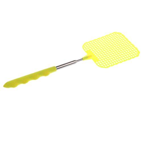 Homyl Fliegenfänger Fliegenklatsche für Fliegen, Moskito - Gelb