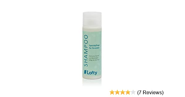 4d70e195374c8f Lofty Spezial Shampoo Perückenpflege, selbstreinigend, für gute und  einfache Reinigung von Kunsthaar, 200 ml, angenehmer Duft, sparsame  Anwendung, ...