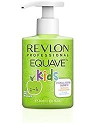 REVLON PROFESSIONAL EQUAVE Shampooing Démêlant/Doux/Hydratant Kids Enfants Hypoallergénique, 300ml