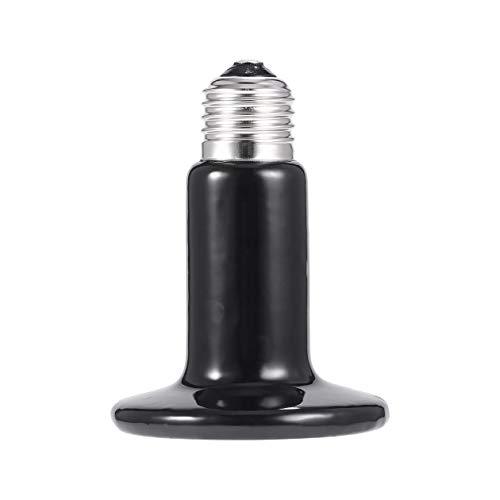 Infrarot Keramik Wärmeemitter Lampe Pet Appliance Wärmelampe Für Reptil Huhn Inkubator 220-230 V Keramik + Legierung Schwarz