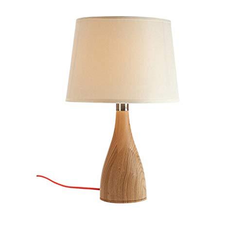 CX AMZ Moderne Einfachheit hölzerne Lampe Mode Hause Schreibtischlampe Lesestudie Tischleuchte Holztischlampe, Winterurlaub Geschenk, Holztischleuchte