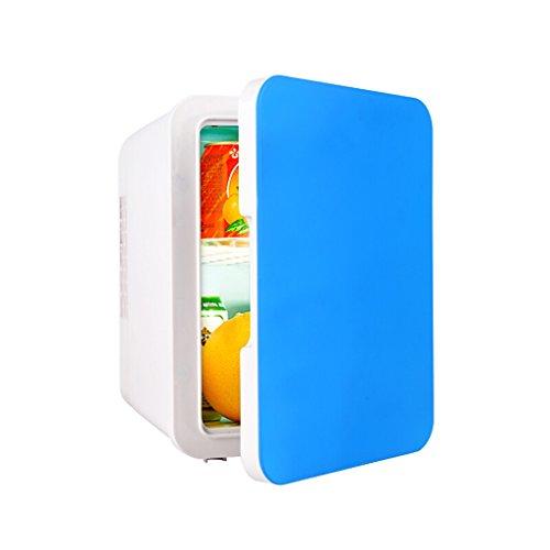 Auto Kühlschrank SKC Mini Kühlschrank 5L Mute Reefer Kühler Box (Home Office und Auto verwenden) (Farbe : Blau) 5l-lithium-batterie