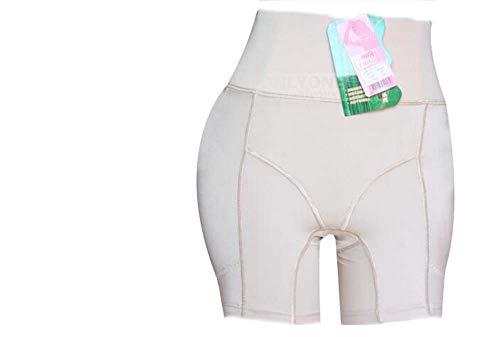 Ning Hip Enhancer Unterhose Butt Lifter Booster Panty Push Up Gesäß Shapewear Packung Mit 2 Stück,Natural,M -