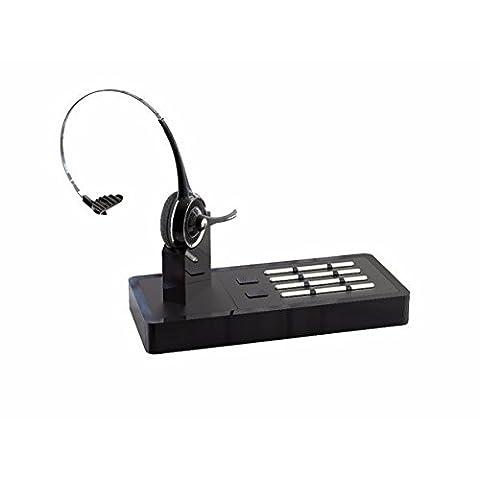 buwico Connexion téléphone fixe et téléphone portable 2en 1Kit mains libres oreillette bluetooth sans fil Système