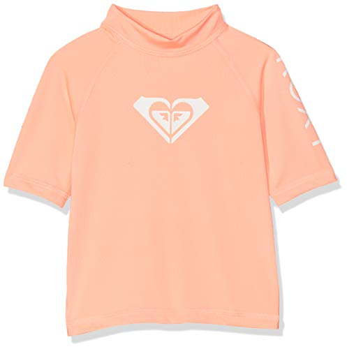 Roxy Mädchen Whole Hearted Surf Tee, Souffle, 2