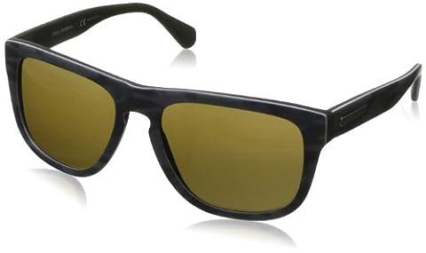 D&G Dolce&Gabbana DG4222 Sunglasses, Brown-Braun (Brown 280473), 56 mm