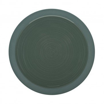 Lot de 6 assiettes à dessert BAHIA coloris Argile Vert