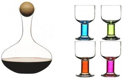 Sagaform Weinglas und Karaffe Set