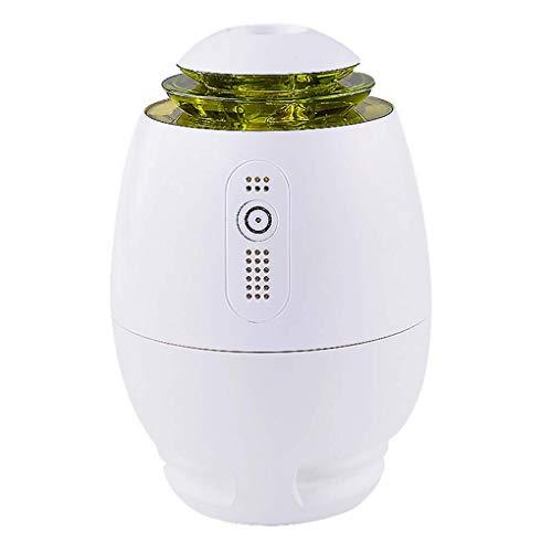 SADDPA Diffusor für ätherische Öle, tragbarer Luftbefeuchter, Luftreiniger mit negativem Ionenausstoß, Luftionisator, Rauch-USB-Kabel
