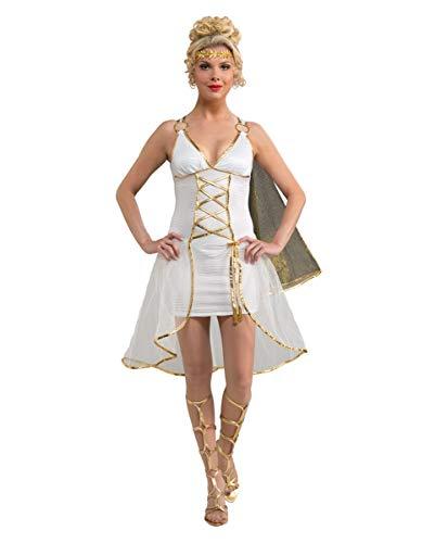 Horror-Shop Griechische Göttin Kostüm mit Lorbeerkranz für Deine Verkleidung als Aphrodite M