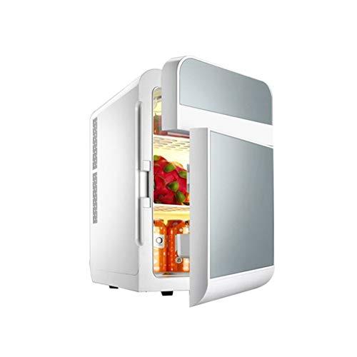 JGWJJ Tragbares thermoelektrisches Kühl- und Wärmesystem für Mini-Kühlschränke mit AC/DC-Adapter für Reisen, Picknick, Camping, Haushalt und Büro (Farbe : Gray)