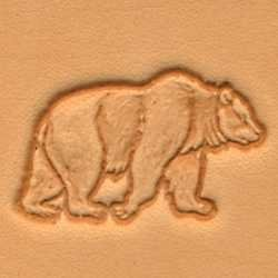 Bear 3d Leather Stamping Tool by Tandy Leather -