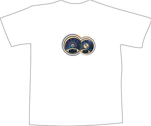 T-Shirt E246 Schönes T-Shirt mit farbigem Brustaufdruck - Logo / Grafik ...