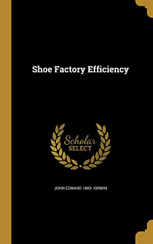 SHOE FACTORY EFFICIENCY