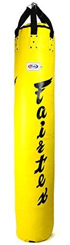 Fairtex HB66ft für Muay Thai Banana Tasche ungefüllt, gelb