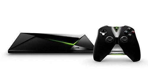 Nvidia Shield TV - TV Box con controller (resolución 4K HDR, memoria interna de 16 GB, 3 GB de RAM, Android 7.0), negro - versión 2015