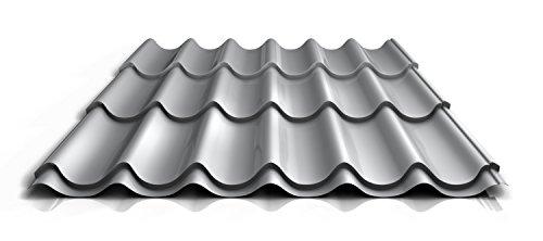 stahl-pfannenblech-ps47-1060rta-050-mm-25-um-polyester-farbeweissaluminiumlange2200-mm