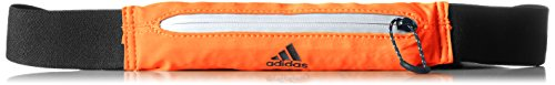 adidas Run Belt Cinturón, Unisex Adulto, Multicolor (Energi / Refsil / Negro), NS