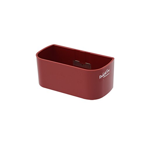 KalaMitica 64016-201-001 Récipient Magnétique, Résine Abs, Couleur Rouge, Dimension 13,8 cm