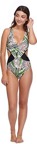 Shiner Sports UK Damen Body Glove Women Samoa Talia Einteiler Badeanzug Einteiler Badeanzug S Black (Multi)