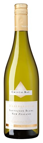 Crystal Bay - Marlborough Sauvignon Blanc Weißwein Neuseeland 13% Vol. - 0,75l Crystal Sauvignon Blanc
