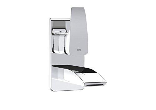 Roca A5A4750C00 – Mezclador monomando empotrable para lavabo con limitador de caudal a 8l/min