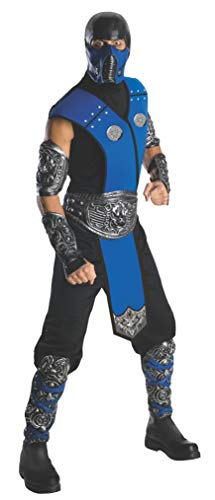 Subzero Mortal Kombat Kostüm (Sub Zero Kostüm Für Erwachsene)