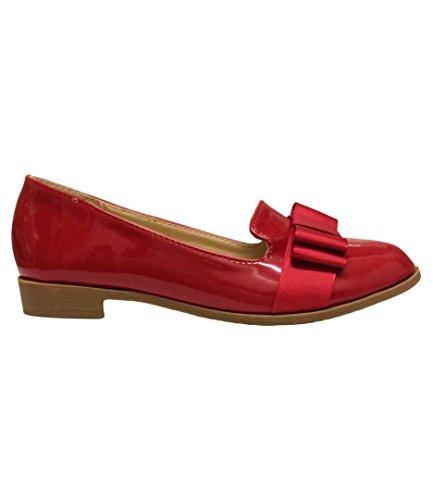 Filles Chaussures Ballerines Plates Paltes Décontracté Noeud Sur Le Devant Chaussures