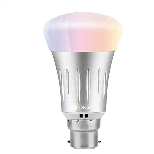 Amazon Rgb Google B22 Ambiance Intelligente Dimmable Avec 7w Fonctionne À Led Ampoule Couleurs Distance Lampe Smart Echo Home Contrôle Alexa Wifi 5L34RjA