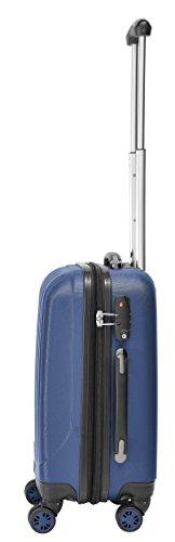 Packenger Velvet Koffer, Trolley, Hartschale 3er-Set in Atlantikblau, Größe M, L und XL - 7