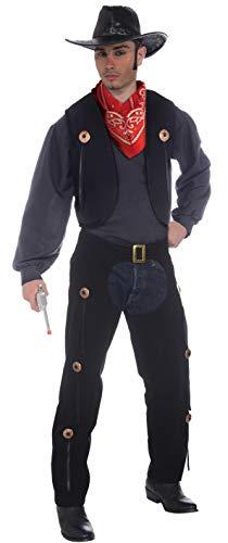 Cowboy Kostüm Lone - Forum Novelties AC775 Cowboy Weste und Chaps