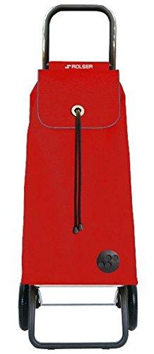 Rolser - imx001rojo - Poussette de marché 2 roues 43l rouge imax mf convert rg