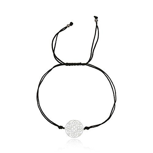 Tara Armband Mandala Edelstahl Viele Bandfarben yogaschmuck Fairtrade schmuckrausch Metallfarbe Silber