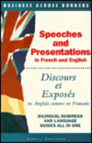 Speeches and Presentations in French par Pamela Sheppard