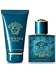 Versace Eros Eau De Toilette Vaporisateur 50ml 2 Produits