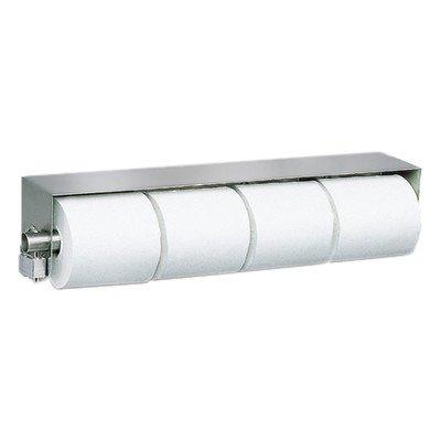 Royce Rollen Edelstahl Standard Vierbettzimmer (four-roll) Toilettenpapierhalter Spender–# tp-4mit # tp-clip