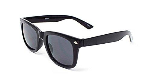 Childrens Kids Black Classic Style Sunglasses UV400 Classic Shades UVA UVB Sunglasses