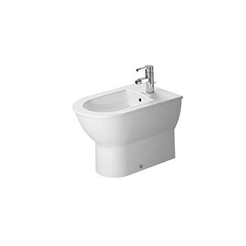 Duravit Stand-Bidet Darling New 570 mm, 1 Hahnloch, weiss, 2250100000