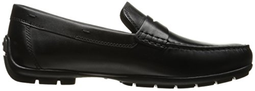 Geox U Moner W 2Fit, Mocassini Uomo Nero (Black)