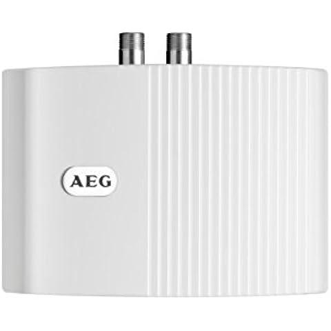 AEG 222120 MTD 350 - Calefactor de baño cerrado (tamaño pequeño, 3500 W, 230 V), color blanco