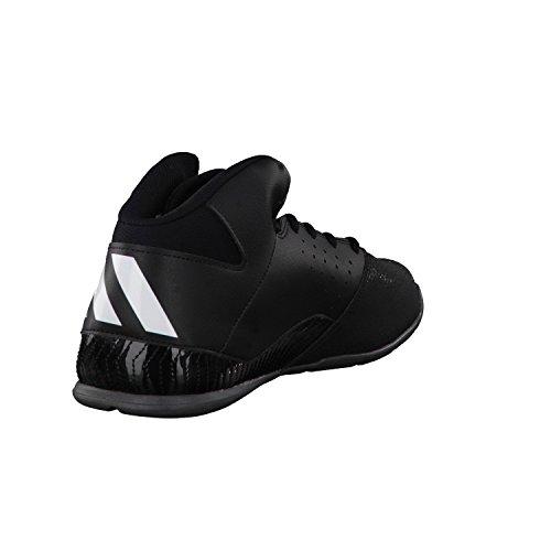 adidas Nxt Lvl Spd V, Chaussures de Basketball Homme Noir (Negbas/ftwbla/grpudg)