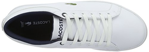 Lacoste Unisex-Kinder Straightset Lace 316 2 Low-Top Weiß (WHT 001)