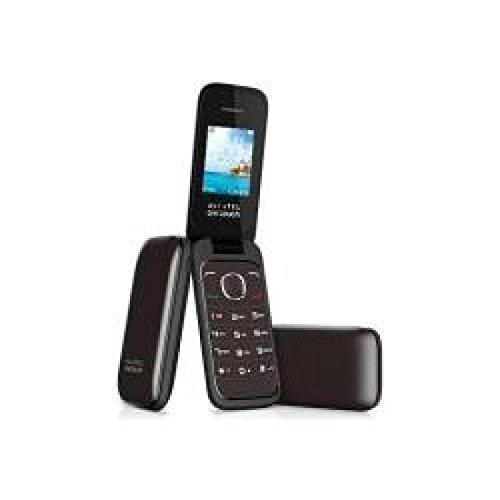 "Alcatel Onetouch 1035 Dual SIM - Móvil libre (pantalla 1.8"", 3 MB, 24 MB RAM, teclas grandes), chocolate"