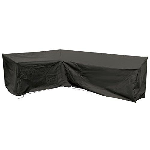 Cozy Bay fc270200-blk Extra große Abdeckung Modular L Form Sofa in schwarz, 200x 270x 90cm (Abdeckung Sofa Große)