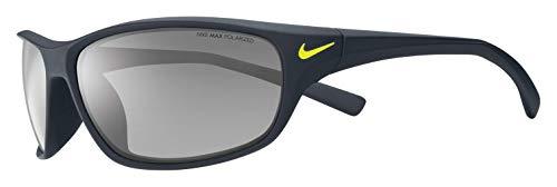 Nike Herren Rabid Ev0603 007 63 Sonnenbrille, Grau (MttBlck/Gry/SlvrFlsh),