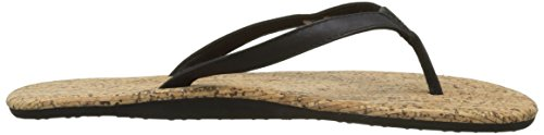 O'Neill Damen Fw Cork Bed Flip Flop Zehentrenner Schwarz (Black Out)