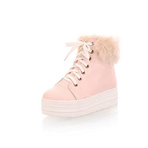 BalaMasa ,  Damen Schneestiefel , Pink - rose - Größe: 37