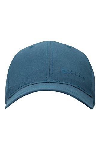 mountain-warehouse-unisex-summer-sun-hat-100-cotton-baseball-cap-petrol-blue
