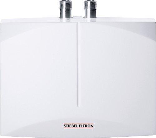 STIEBEL ELTRON elektronisch geregelter Mini-Durchlauferhitzer DEM 7, 6.5 kW, Handwaschbecken, gradgenaue Wunschtemperatur, druck-/drucklos, 232769